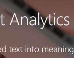 Tekstin Tyylin Analysointi