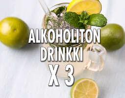 Alkoholittomat Drinkit