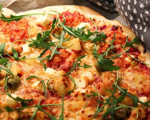 Täydellinen Pizzapohja