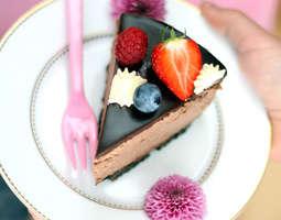 herkullinen suklaakakku Heinola