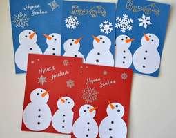 joulukortti askartelu Askartelua postaukset   Blogit.fi joulukortti askartelu